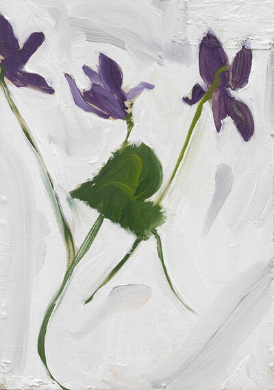 Chantal Joffe, 'Violets', 2019