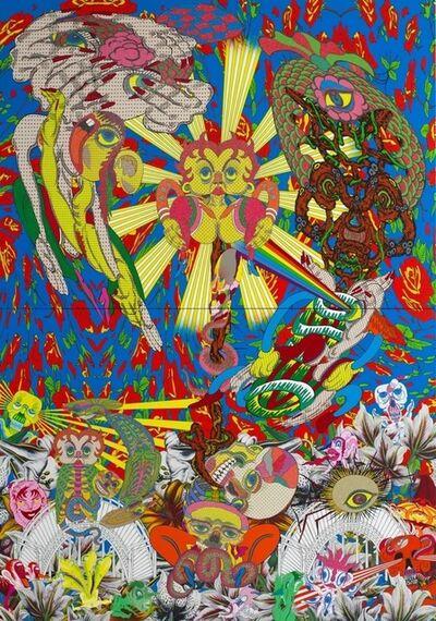 Keiichi Tanaami, 'Eye Badinage', 2014