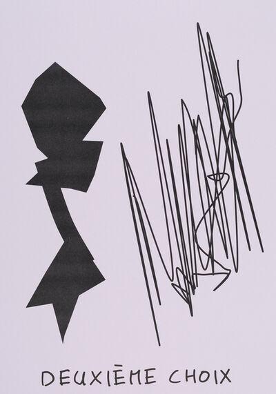 Claude Closky, 'Deuxième choix (lilas) (d)', 2020