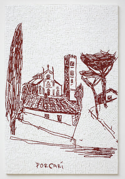 Erik A. Frandsen, 'Morandi's Tablet', 2015