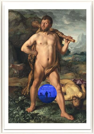 Jeff Koons, 'Gazing Ball (Goltzius Hercules and Cacus)', 2017