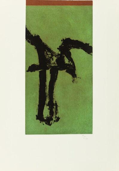 Robert Motherwell, 'Primal Signs IV (variant)', 1980