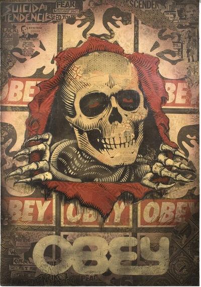 Shepard Fairey, 'Bones Ripper', 2008