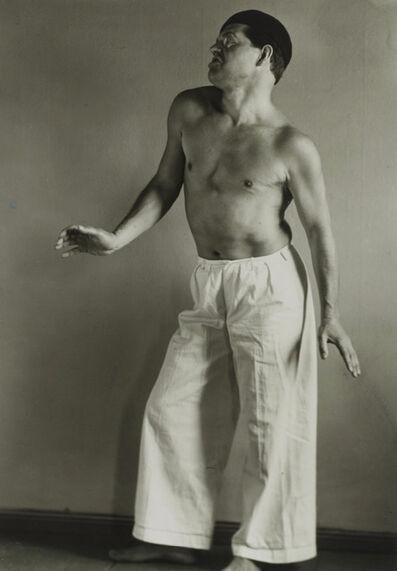 August Sander, 'Raoul Hausmann', 1921
