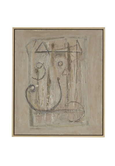 "Shakir Hassan Al Said, 'Untitled (""Grey"")', 1963"