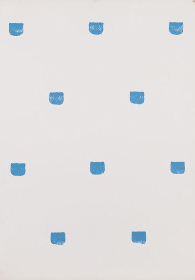 Niele Toroni, 'Empreintes de pinceau n°50 répétées à intervalles réguliers de 30 cm.', 1979