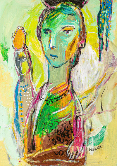 Mohamed Saleh Khalil, 'Woman Carrying a Jar', 2015