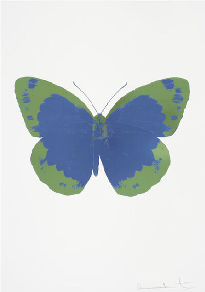 Damien Hirst, 'Frost Blue – The Souls II – Frost Blue - Leaf Green', 2010
