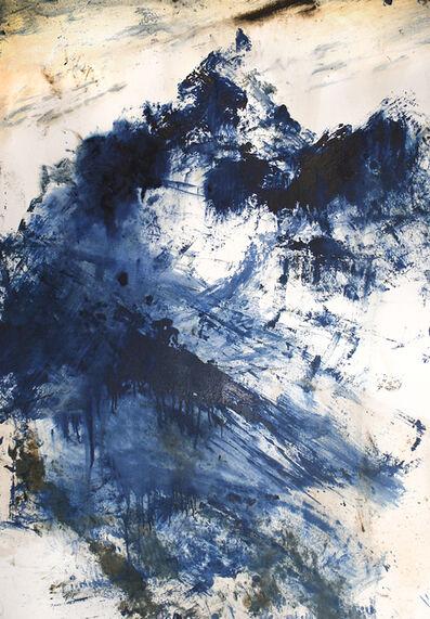 Alessandro Busci, 'Montagna_blu', 2016