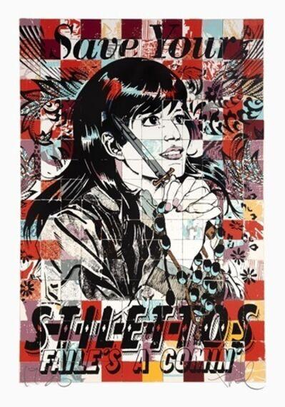 FAILE, 'Save Stilettos', 2010