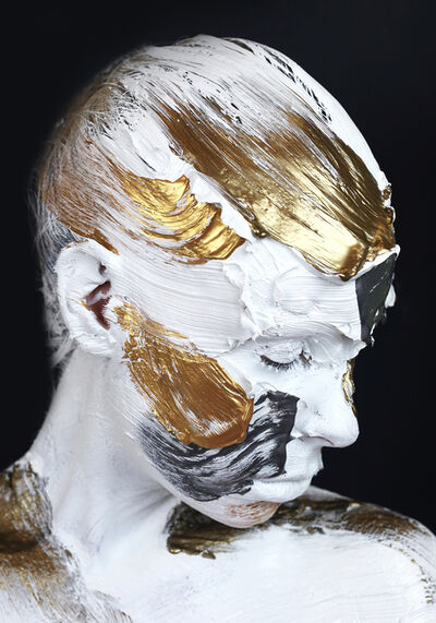Sophie Derrick, 'Negate & Gild - Black + Steel #3', 2019