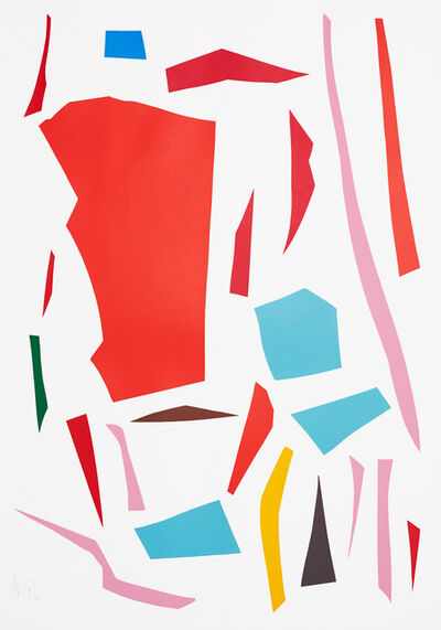 Imi Knoebel, 'Messerschnitte (Knife Cuts)', 1977-1993