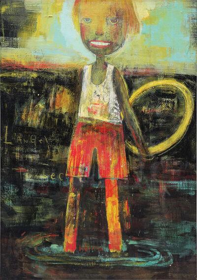 Yoshitomo Nara, 'L'Angel est Tombée', 1987
