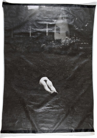 Lesley Dill, 'Waist Down on the Lawn', 1998