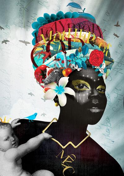 Caitlin Truman - Baker, 'black madonna', 2016