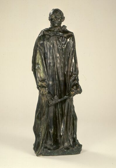 Auguste Rodin, 'A Burgher of Calais (Jean d'Aire)', Model 1884, 1889, reduction cast probably 1895