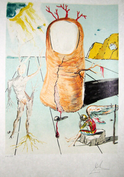 Salvador Dalí, 'Vision of an Angel of Cap Creus ', 1980
