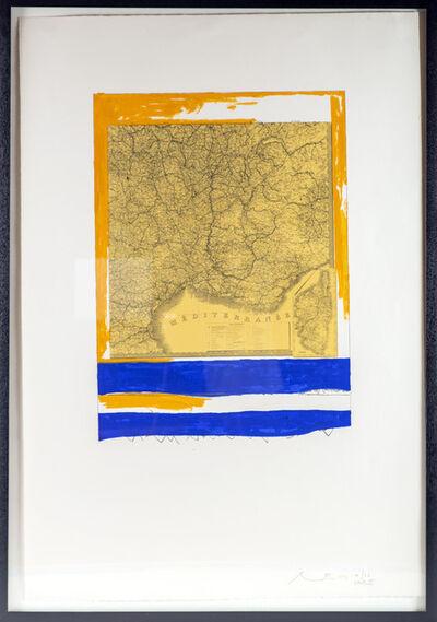 Robert Motherwell, 'MEDITERRANEAN (STATE II YELLOW)', 1975