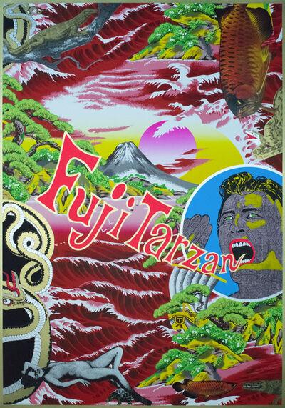 Tadanori Yokoo, 'Fuji Tarzan Gallery Apa', 1997