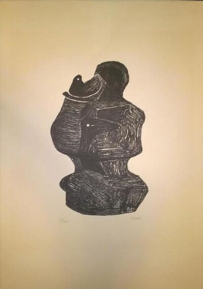 Henry Moore, 'Mother and Child', 1974