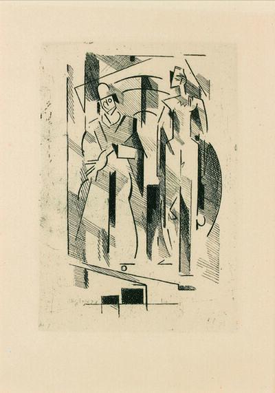 Albert Gleizes, 'Pascal.  Pensées sur l'homme et Dieu.', 1950