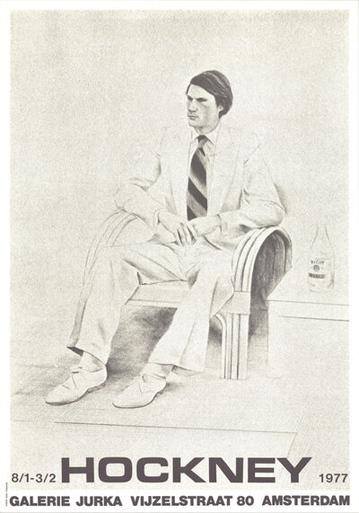 David Hockney, 'Joe MacDonald', 1977
