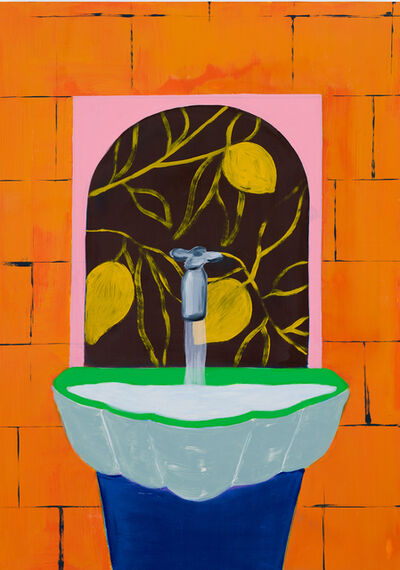 Cara Nahaul, 'Citrus Fountain', 2019