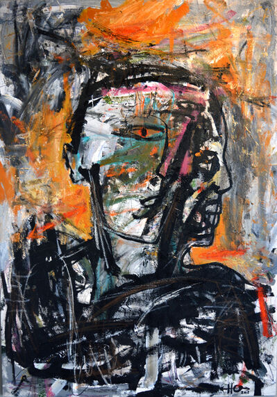 Harouna Ouedraogo, 'Facial Recognition', 2018