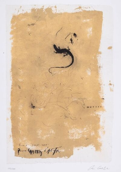 Piero Pizzi Cannella, 'Per una camera d'artista', 2005/2006