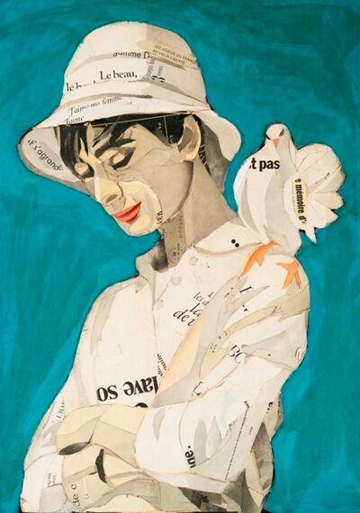 Pedro García Villegas, 'Audrey with doves', ca. 2019