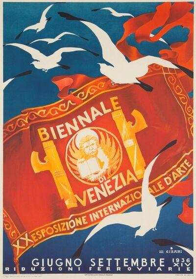 Giulio Cisari, 'BIENNALE DI VENEZIA, XX ESPOSIZIONE INTERNAZIONALE D'ARTE', 1936