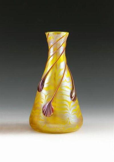 Johann Lötz Witwe, Klostermühle, 'Vase opal Phänomen Gre 1/4', 1901