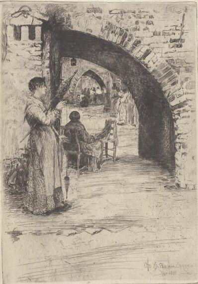Otto Henry Bacher, 'Reteria (Net Makers)', 1881