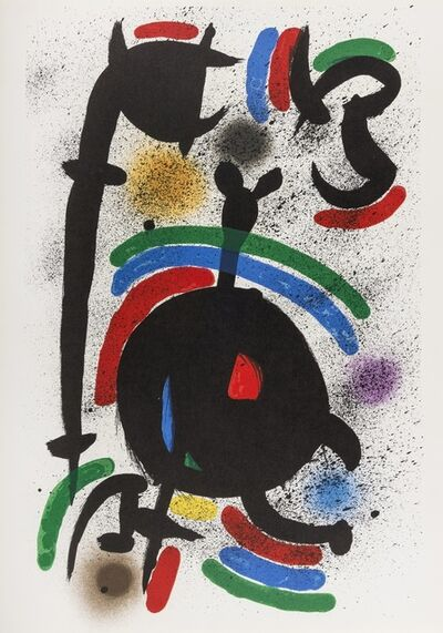 Joan Miró, 'From Lithographie I (M 860, 865, 866)', 1972