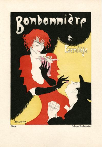 """Walter Schnackenberg, '""""Cabaret Bonbonniere"""", Kostume, Plakate und Decorationen', 1920"""