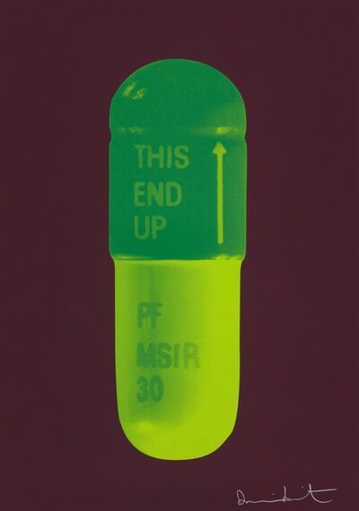 Damien Hirst, 'The Cure - Chocolate/Emerald Green/Lime Green', 2014