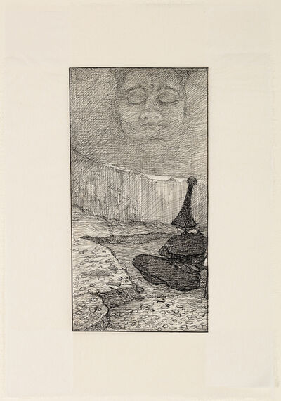 Alfred Kubin, 'Meditation', 1909