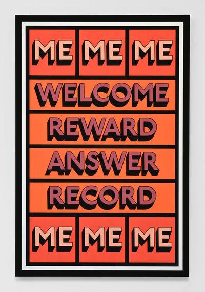 Tim Fishlock, 'WELCOME ME', 2019
