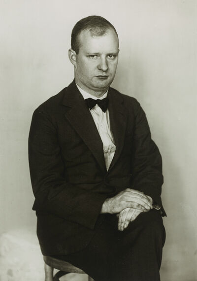 August Sander, 'The Composer [Paul Hindemith]', ca. 1925