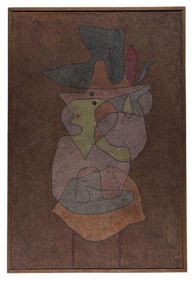 Paul Klee, 'Dame Démon', 1935