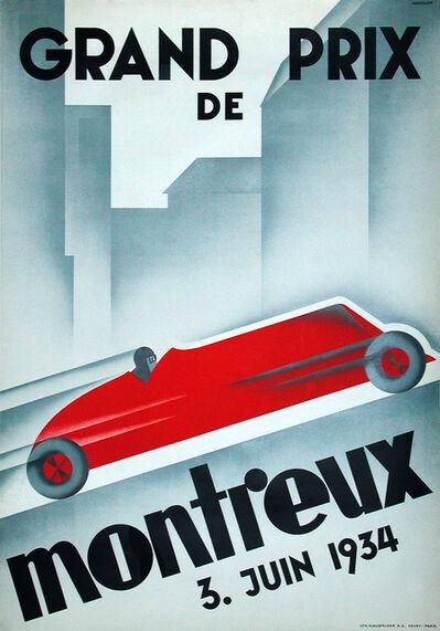 "Johannes ""Hans"" Handschind, 'GRAND PRIX DE MONTREUX 1934', 1934"