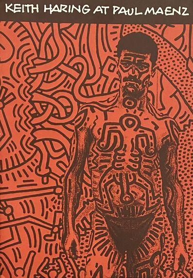 Keith Haring, 'Keith Haring at Paul Maenz 1984', 1984
