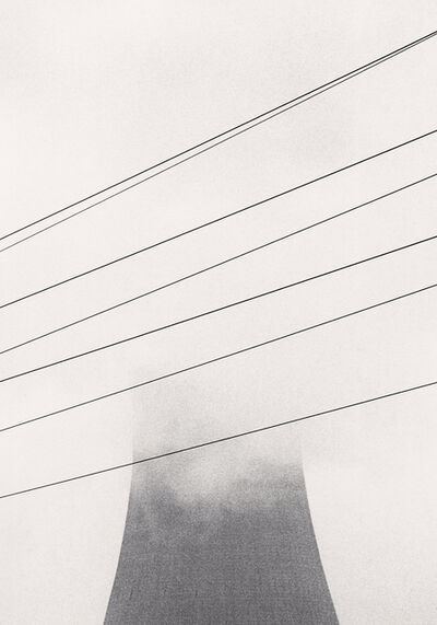 Michael Kenna, 'Ratcliffe Power Station, Study 13, Nottinghamshire, England, 1984', 1984