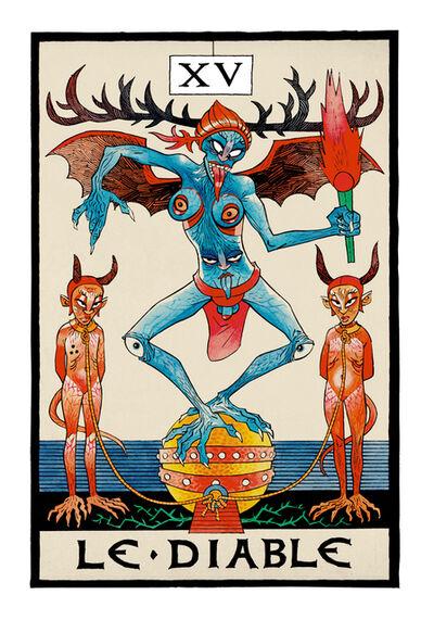 Jamie Hewlett, 'Le Diable  (The Devil), ', 2015