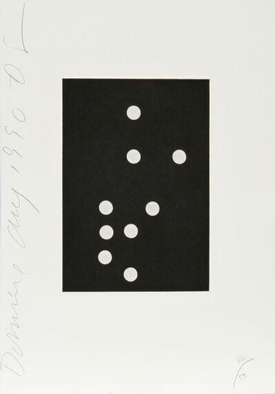 Donald Sultan, 'Dominoes Portfolio - 25', 1990