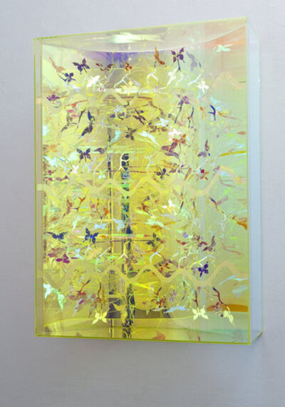 HC Berg, 'Visual Vortex, Oily Colours, Barb, Wave II', 2009