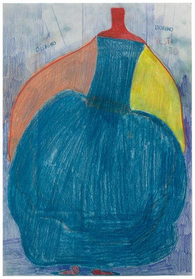Alessandra Michelangelo, 'Disegno manichino vestito La Sire', 2007