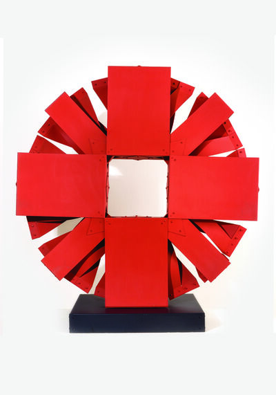Edgar Negret, 'Red Sun', 1985