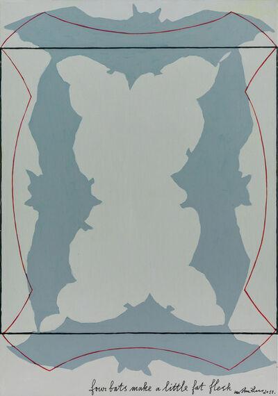 Wu Shanzhuan, 'Four Bats Make a Little Fat Flesh《四只蝙蝠做一个小肥姘》', 2011