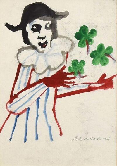 Mino Maccari, 'Four-Leaf Clover', 1960's